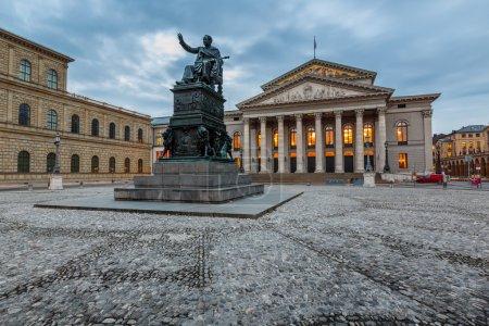 The National Theatre of Munich, Located at Max-Joseph-Platz Squa