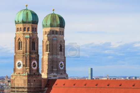 Munich, Frauenkirche, Cathedral of Our Dear Lady, Bavaria, Germa
