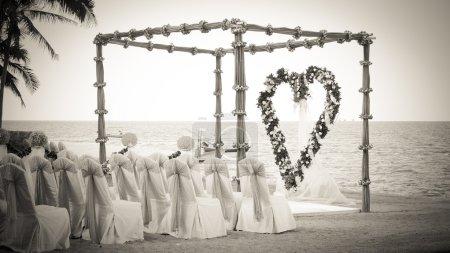 wedding venue on the beach