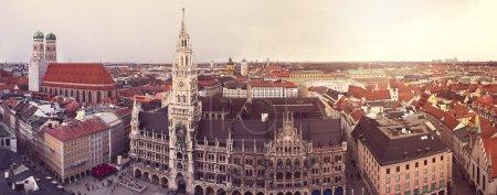 Panorama of Munich, Germany