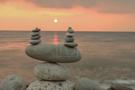 sea, vacation, summer, season, sun and peaceful concept