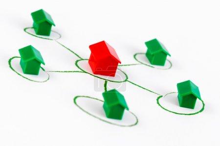Network houses
