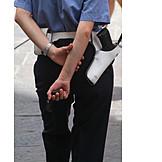 Handgun, Uniform, Traffic warden
