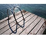 Swim, Pier, Ladder