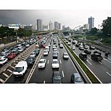 Highway, Road traffic, Sao paulo