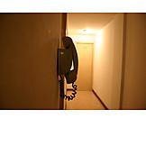 Telephone, Hotel, Corridor