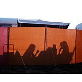 Shadow, Campground, Camping