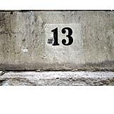 Number, Superstition, 13