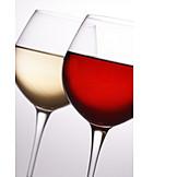 Glass, Red wine