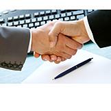 Handshake, Contract