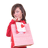 Young Woman, Indulgence & Consumption, Purchase & Shopping
