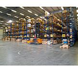 Storage, Forklift, Warehouse