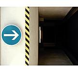 Direction, Traffic sign, Arrow