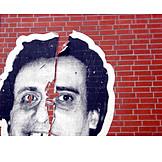Torn, Poster, Streetart
