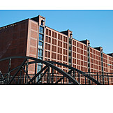 Hamburg, Speicherstadt, Brick building