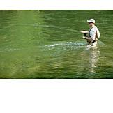 Fisherman, Fishing, Fly, Fishing