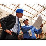 Showing, Floorplan, Architect, Construction worker