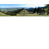 Mountain range, Bavaria, Nesselwang, Alpspitze