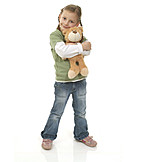 Child, Girl, Teddy