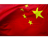 Flag, Red, China
