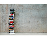 Book, Literature, Stacking books