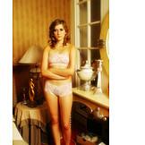 Young woman, Woman, Retro, Underwear
