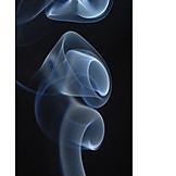 Smoke, Fug, Abstract, Smoke windrows