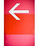 Direction, Arrow, Left