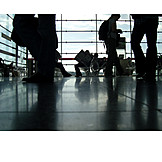 Airport, Waiting hall, Group