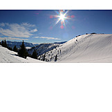 Winter landscape, Garmisch partenkirchen