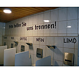 Humor & bizarre, Urinal, Men toilet