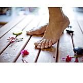Barefoot, Foot, Pedicure