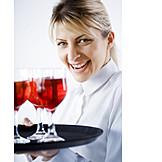 Gastronomy, Tray, Waitress, Wait staff
