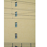 Facade, Overhead, Catenary, Electrification