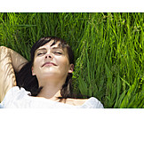Young woman, Woman, Enjoyment & relaxation, Suns