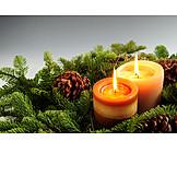 Christmas, Christmas decoration, Advent arrangement