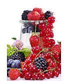Berry, Jar, Sugar, Wild berries