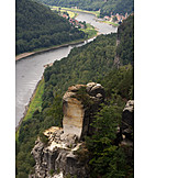 Sandstone, Rocks, Elbe sandstone mountains