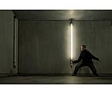 Burglar, Neon light