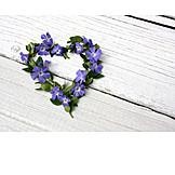 Heart, Cordate, Flower