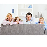 Togetherness, Domestic life, Family, Couch