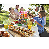 Picnic, Garden party, Family fest, Family outing