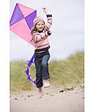 Child, Girl, Kite