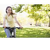 Young woman, Cycling women