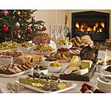 Christmas, Feast, Christmas dinner