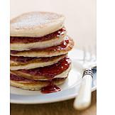 Dessert, Pancakes, Crumpet