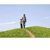 Father, Walk, Son