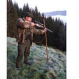 Aiming, Hunting, Hunter