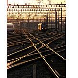 Rail, Yard, Track
