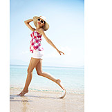 Young Woman, Holiday & Travel, Beach Holiday